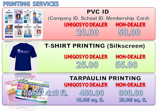 UNIPRINT - UNIGOSYO a business for everyone (earn up to 30K every day)